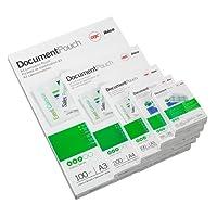 GBC Laminiertaschen Premium-Qualität 250 Mikron für Kreditkartenformat 54 x 86 mm 100 Stück