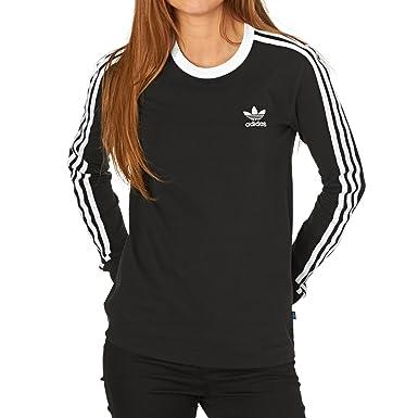a3b6b929e2 adidas 3Stripes LS Tee Langarm T-Shirt: Amazon.de: Bekleidung
