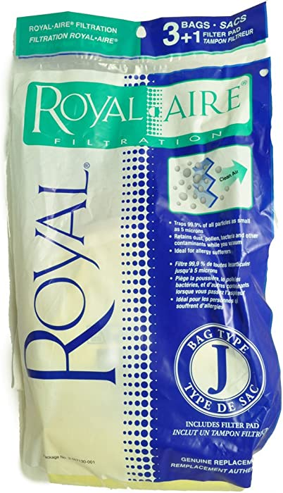 Royal Type J Vacuum Bags 83-2427-08