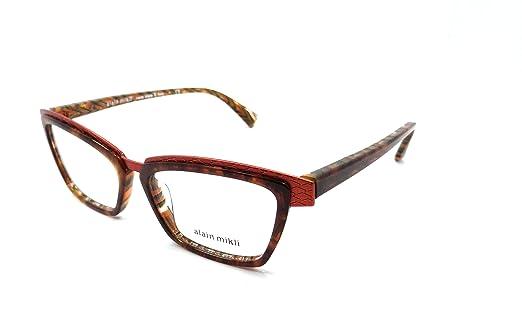 Amazon.com: Alain Mikli Rx Eyeglasses Frames A02015 E107 53x15 ...