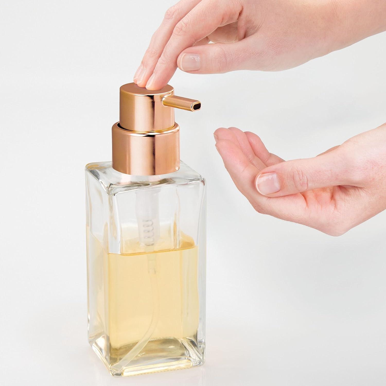 876e41353665 mDesign Set of 2 Refillable Soap Dispenser – Liquid Hand Soap ...