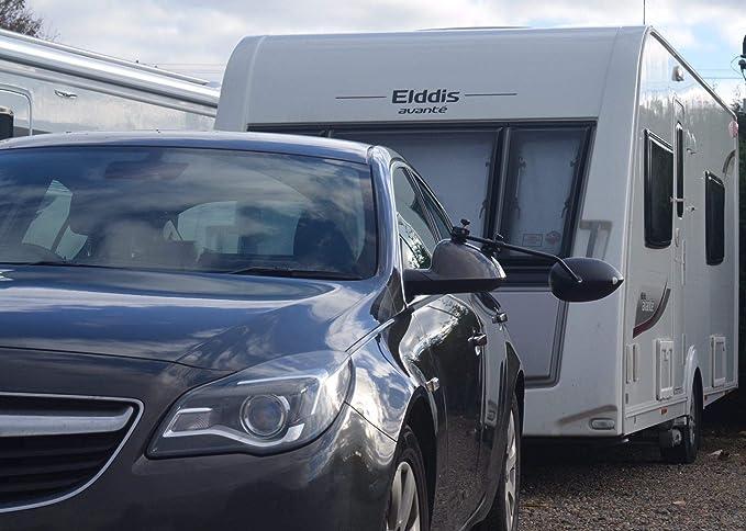 Espejo convex Caravana Coche Extensión remolque se ajusta Land Rover