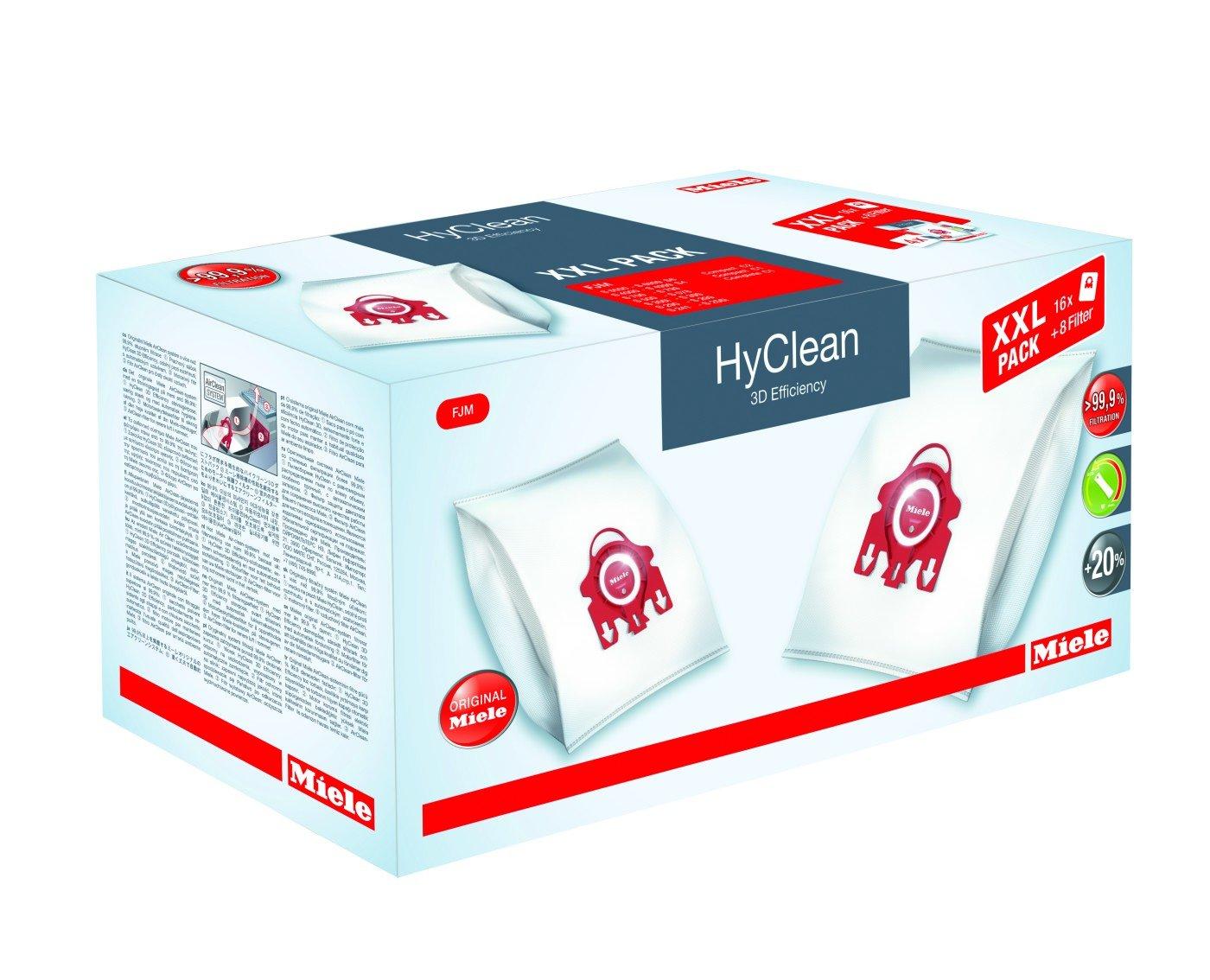 Acquisto Miele XXL-Pack FJM HyClean 3D Sacchetto per Aspirapolvere Prezzo offerta