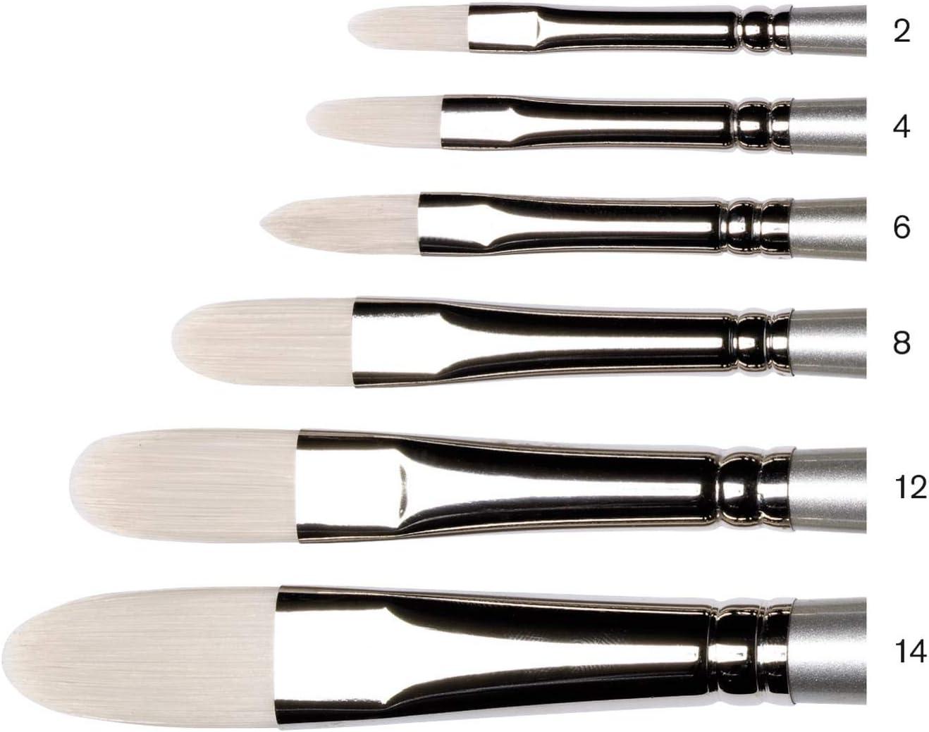 Winsor /& Newton Artisan Long Handle Filbert Brush   New