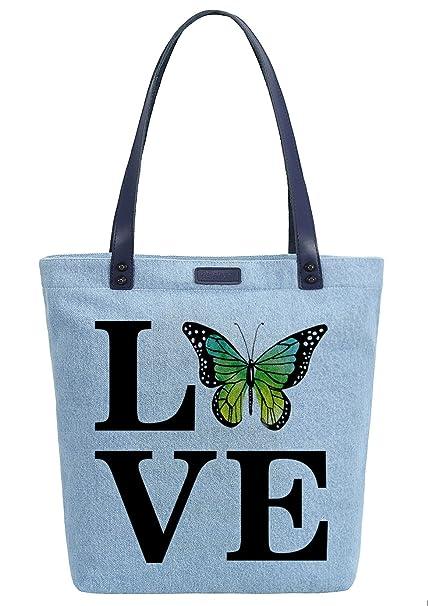Amazon.com: So each Love diseño de mariposa para mujer ...