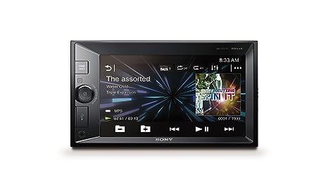 Sony XAVV631BT - Reproductor 2DIN para Coche (Bluetooth y NFC, Pantalla DE 6,2