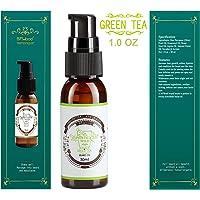 BFWood Olio da Barba per Uomo 30ml Fragranza Te Verde - Ammorbidisce, Idrata, Disciplina la tua Barba e Allevia il Prurito
