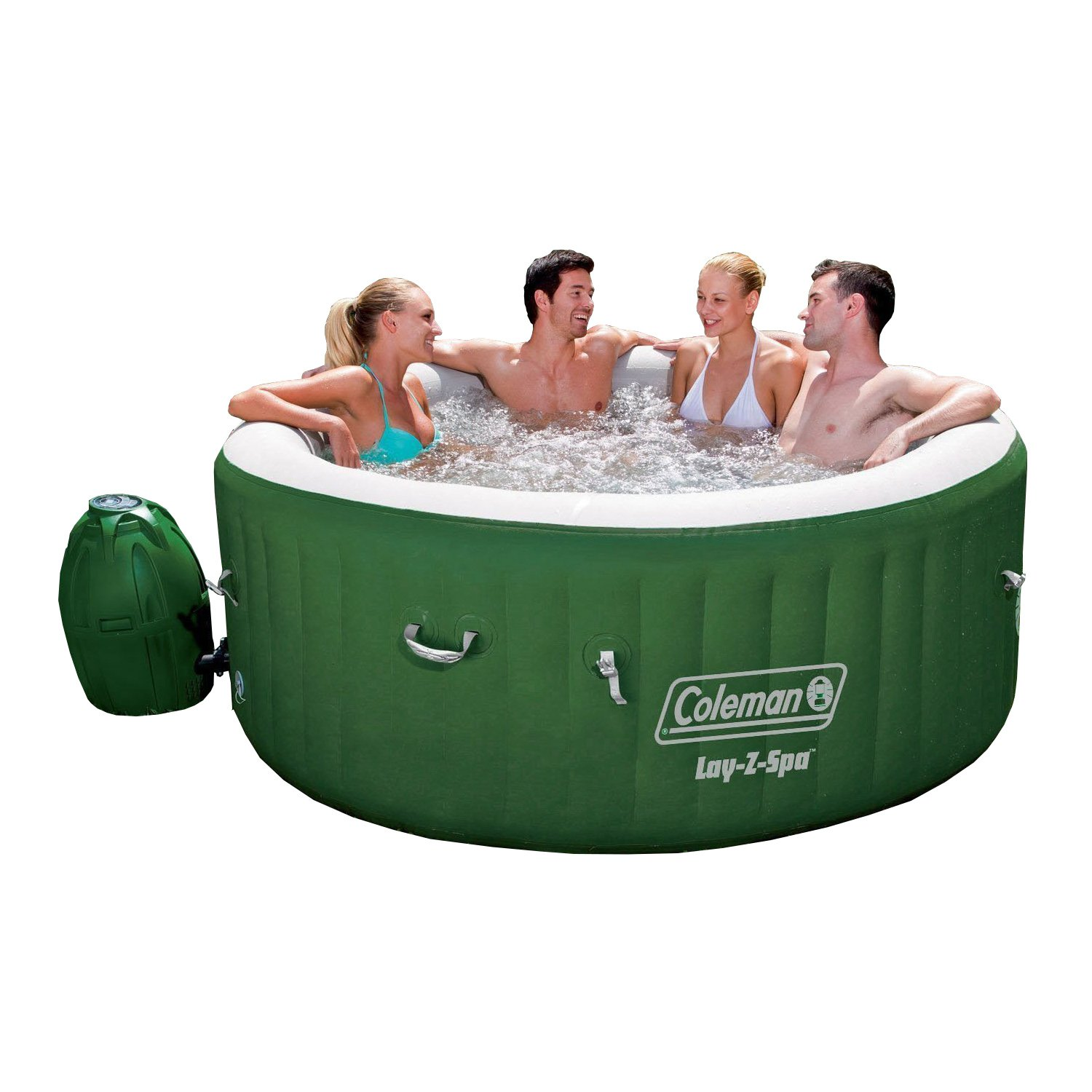 Amazon.com : Coleman Lay Z Spa Inflatable Hot Tub : Patio, Lawn U0026 Garden