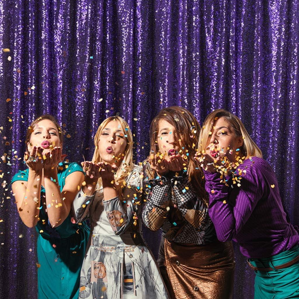 Ceremony Backdrop Purple Sequin Backdrop Wedding Backdrop PartyDelight Purple 5ftx6ft Sequin Photography Backdrop Photo Prop Sequin Photo Booth Backdrop