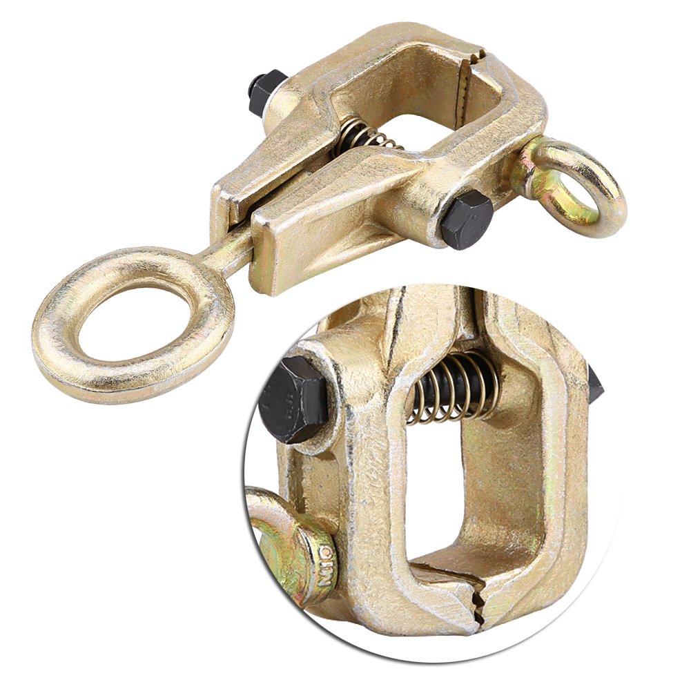 Karosserie Zange f/ür Traction Reparatur 3 Tonnen Bidirektional 5 Tonnen selbstschlie/ßend oben geneigt rechtwinklige Traktions