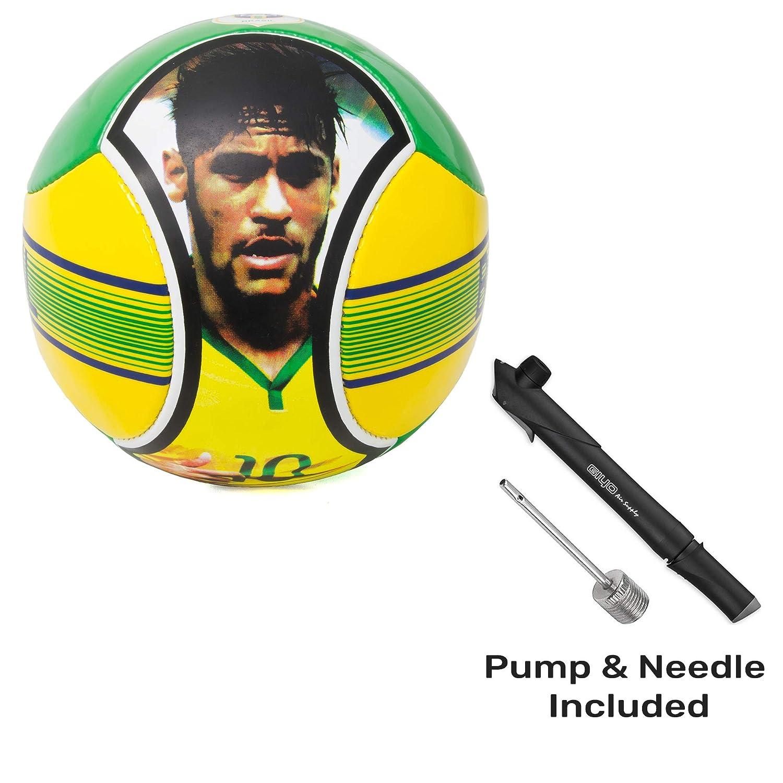 Syecomb Brazil Soccer Ball Size 5 Featuring Neymar Size 5