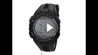 88c148260 Marathon by Timex Men s TW5K94800 Digital Full-Size Black Resin Strap Watch
