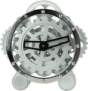 L'Objet du Monde Grande Horloge de Table Squelette à Engrenages