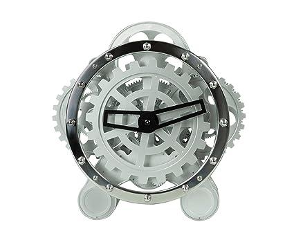 Lobjet Du Monde Grande Horloge De Table Squelette à Engrenages