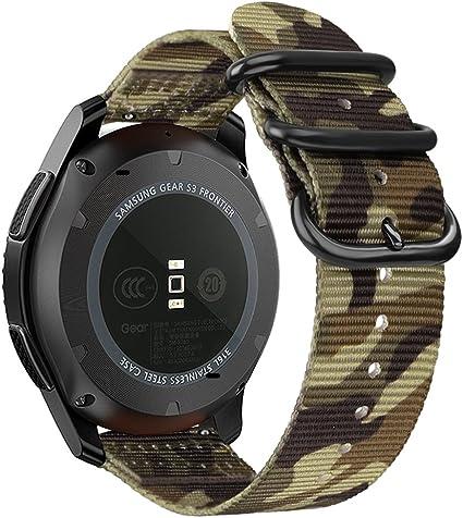 Amazon.com: Fintie - Correa para Samsung Galaxy Watch 1.811 ...
