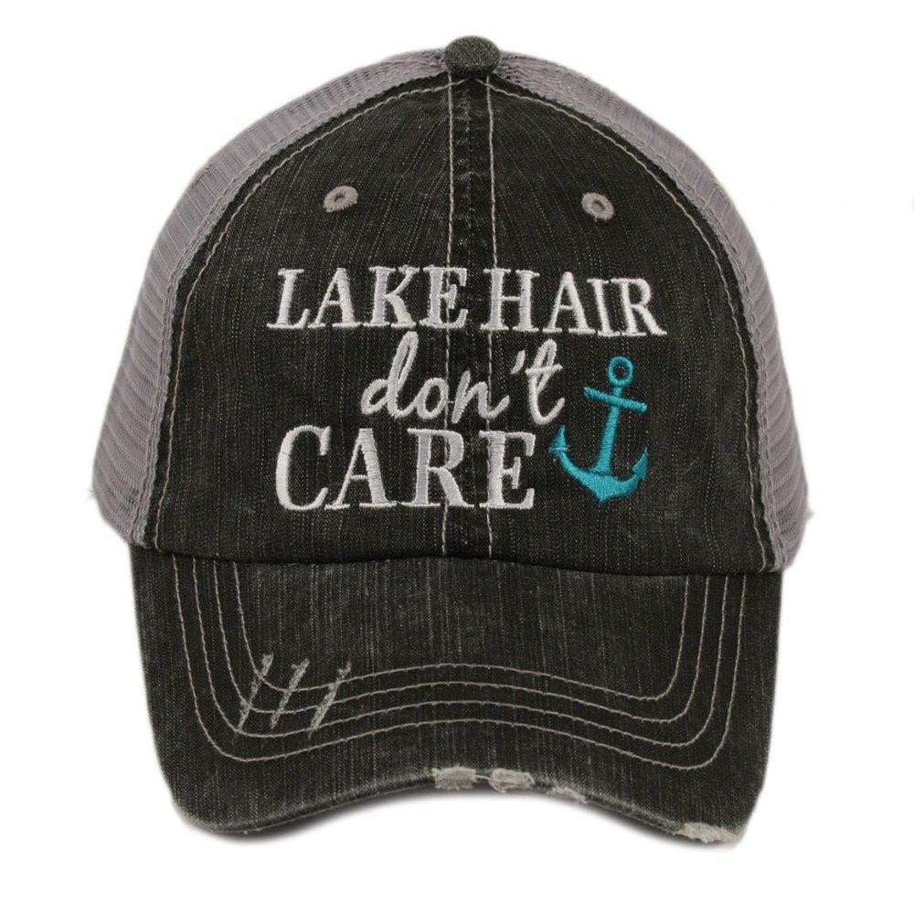 Katydid Lake Hair Don't Care Women's Trucker Hat