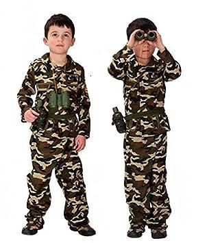 Traje de baño del Ejército Militar 7-8-9 años Talla L ...