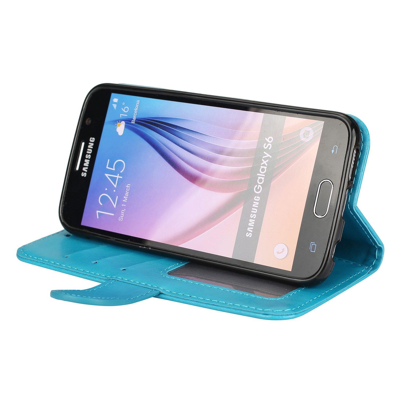 Ailisi Funda Galaxy S7, Flamenco Rosados Funda Piel con Carcasa ...