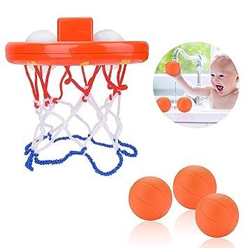 Juguetes De Baño, Aro De Baloncesto De Baño Divertido Para Niños ...