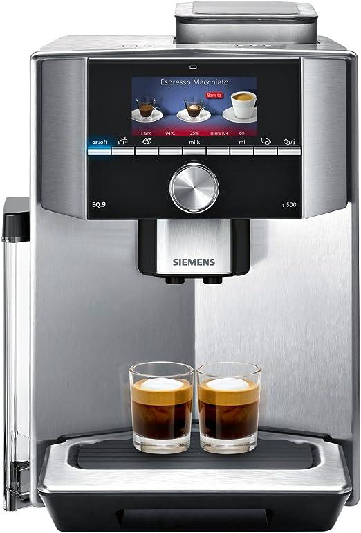 Siemens TI915531DE - Cafetera (Independiente, Máquina espresso, 2 ...