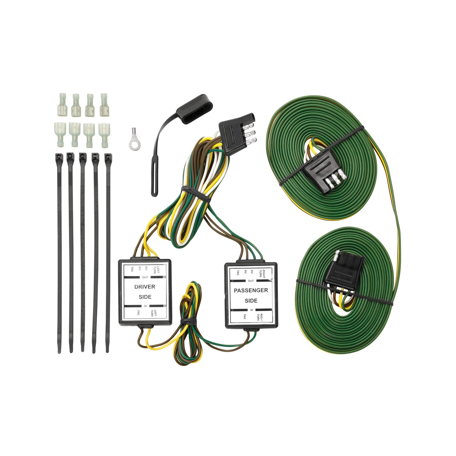 Tekonsha 118821 Taillight Isolating System with 4-Flat