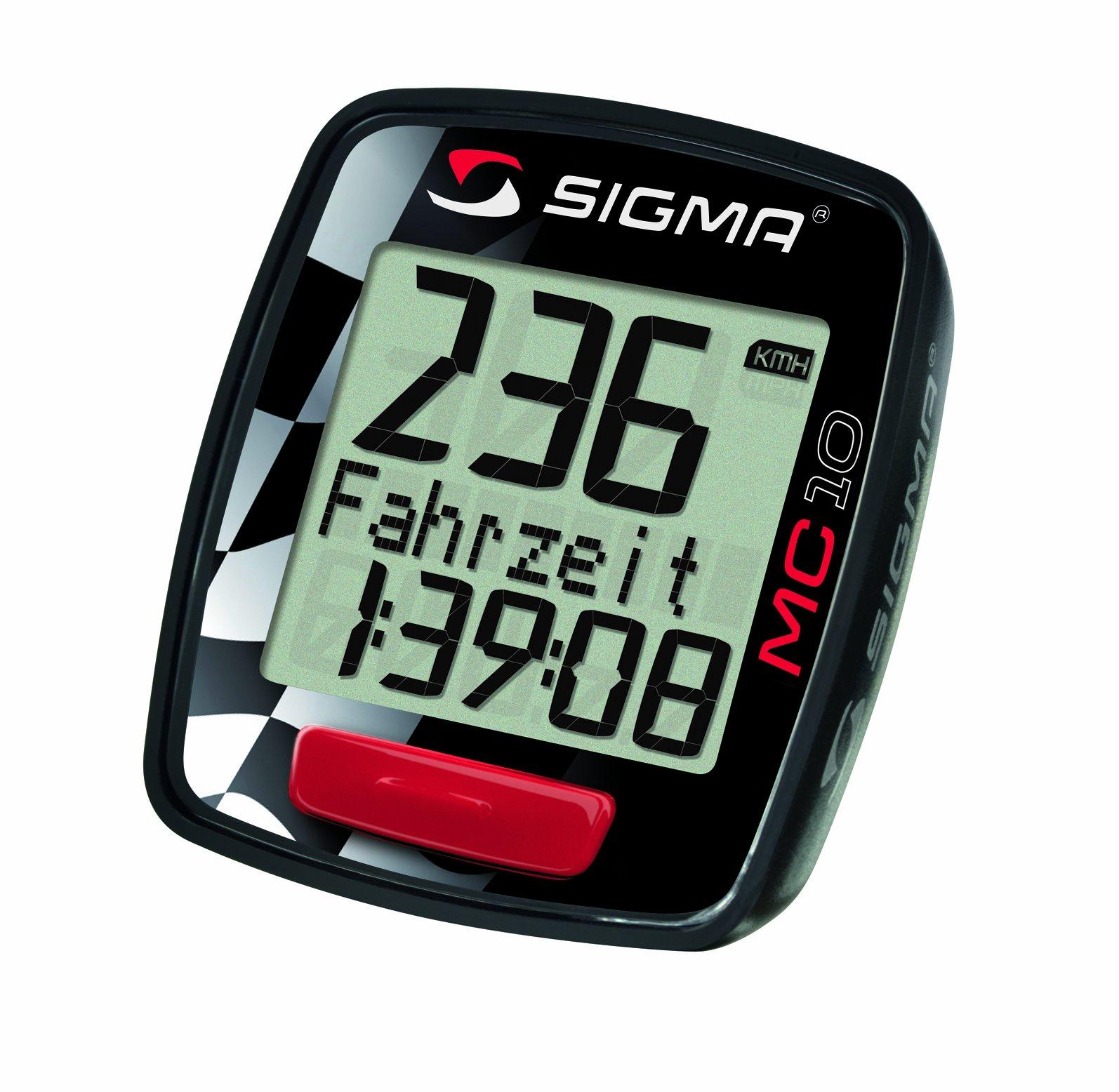 Sigma Sport Motorrad Computer MC 10 - Pulsómetro product image