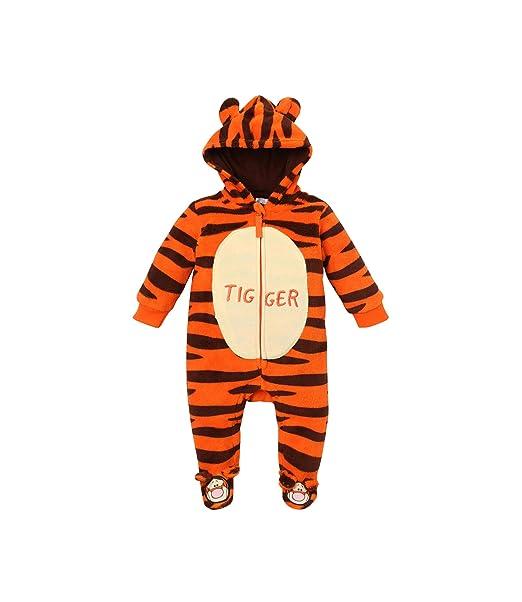 36153bfd6ad60 Disney Tigger Babies Boys Baby overall Orange 18M: Amazon.co.uk: Clothing
