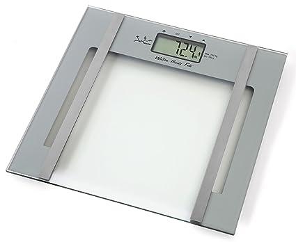Jata Hogar 529 - Báscula electrónica anlalizador grasa/agua, 150 kg