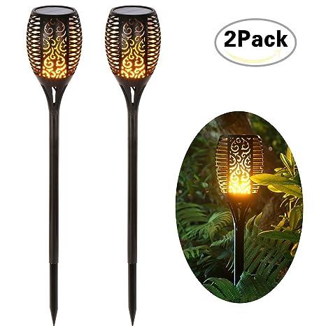 Amazon Com Compra Llamativas Llamas De Baile Luces Solares