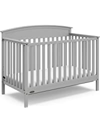 Graco Benton 4-in-1 Convertible Crib – Easily Converts to Toddler Bed, Daybed or Full-Size Bed with Headboard, 3-Position...
