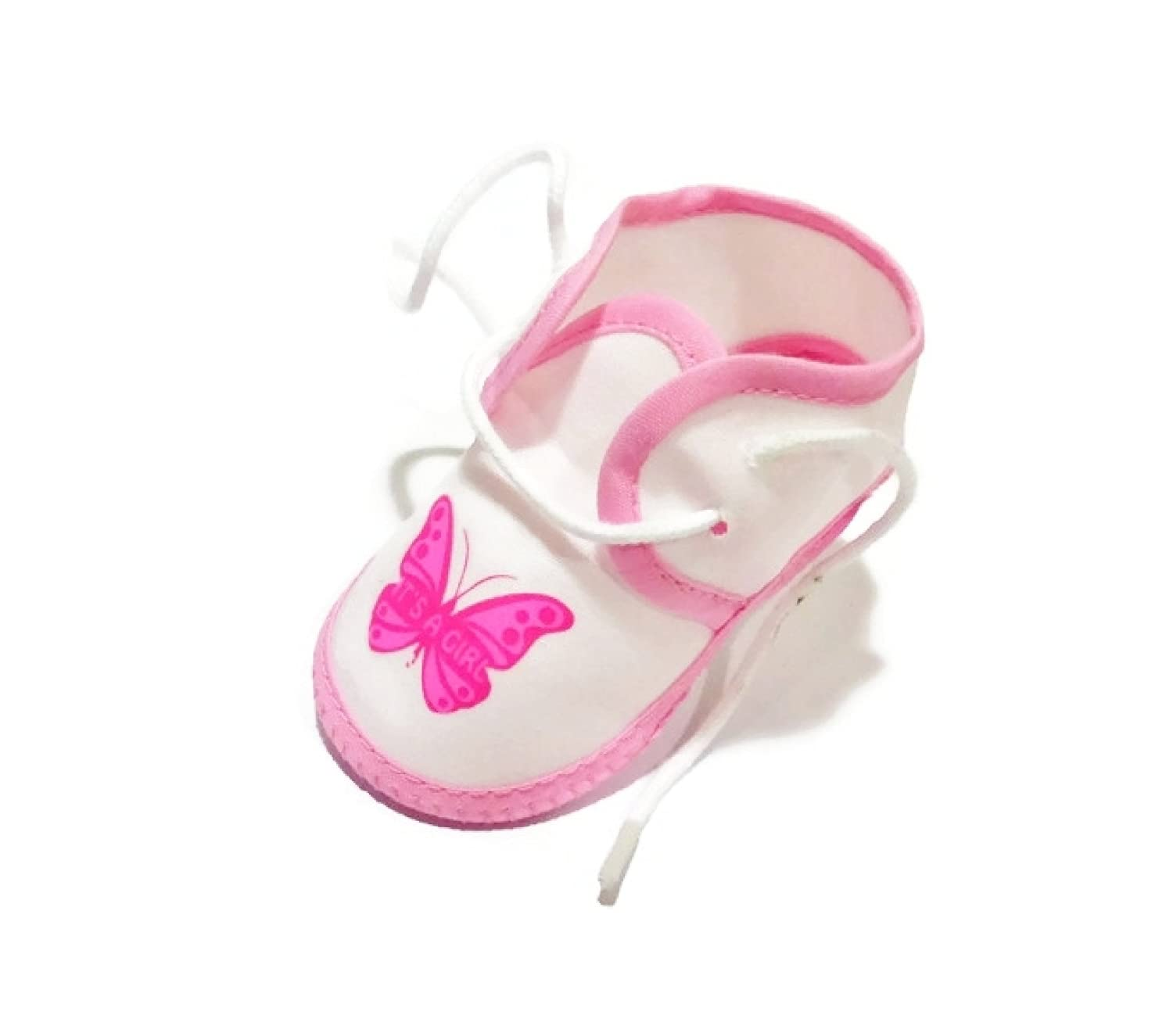 Butterfly Booties for Baby Girl 0-4 Months 3.5length