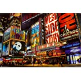 Amazon Price History for:Times Square Theater District Poster 36 x 24in