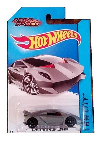 Amazon Com Hot Wheels 2014 Hw City Lamborghini Sesto Elemento