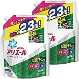 アリエール 洗濯洗剤 液体 部屋干し用 リビングドライイオンパワージェル 詰め替え 超ジャンボ 1.62kg×2個