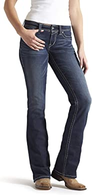 ARIAT Women's Real Riding Boot Cut Jean