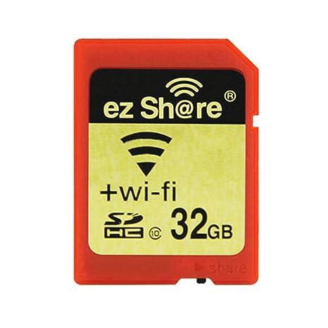 Ez Share SDHC Wifi Tarjeta de Memoria SD de 32 GB, Clase 10 ...