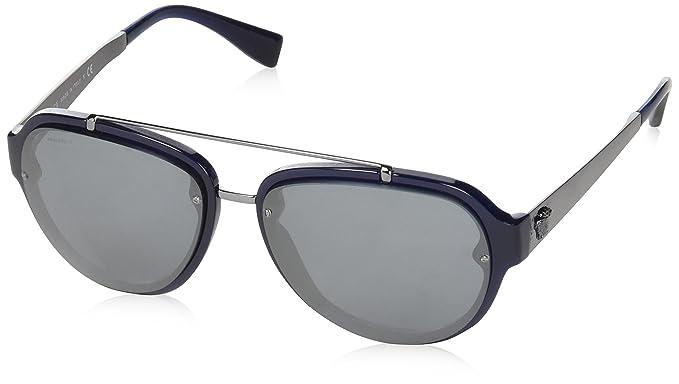 Versace Herren Sonnenbrille » VE4327«, schwarz, GB1/5A - schwarz/gold