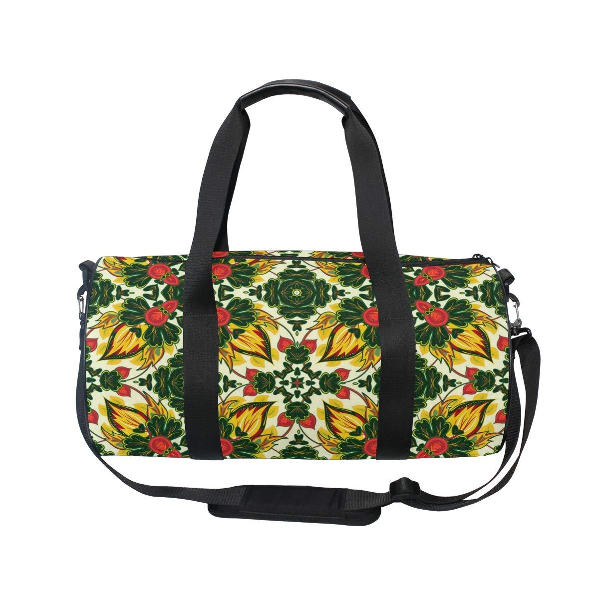Green Beautiful Ceramic PictureWaterproof Non-Slip Wearable Crossbody Bag fitness bag Shoulder Bag