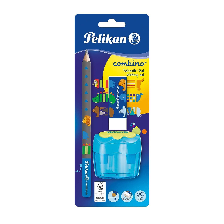 Eraser Pelikan Combino Learners Pencil Sharpener Set