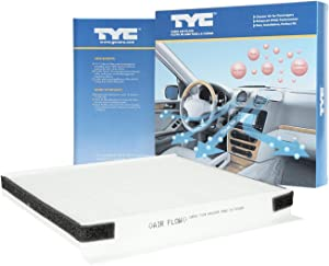 TYC 800158P Replacement Cabin Air Filter Compatible with Hyundai Genesis