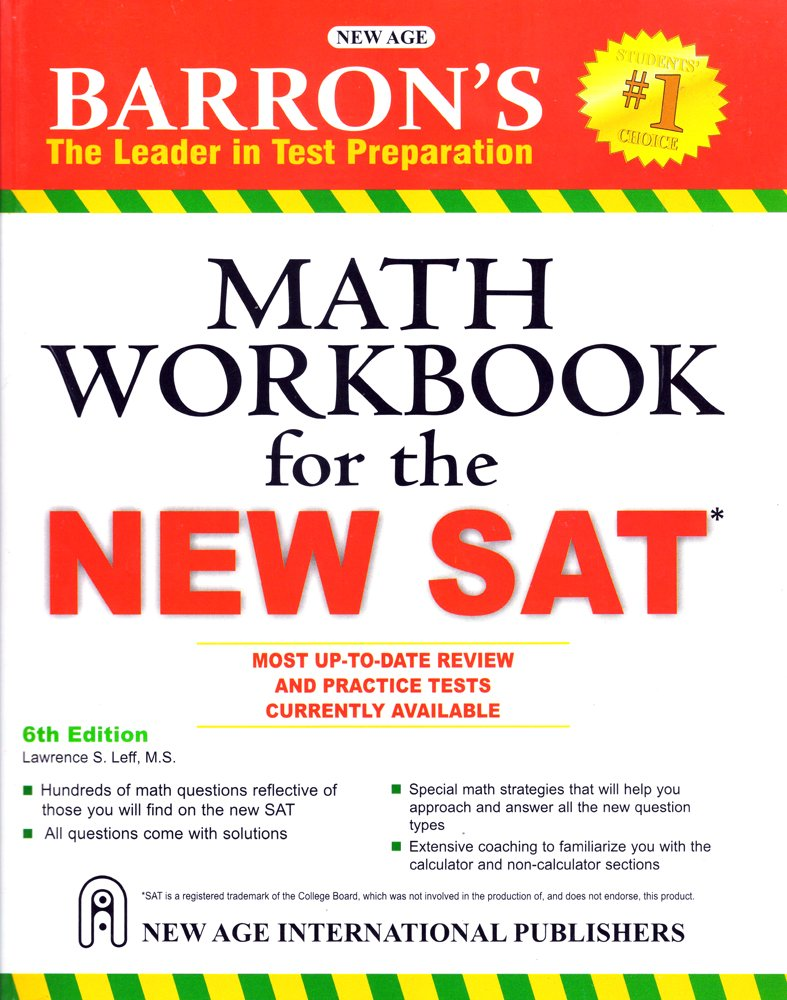 Workbooks kaplan sat math workbook : Buy Barrons Math Workbook for the New SAT Book Online at Low ...
