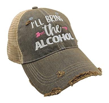 b2b3cd5e Loaded Lids Women's, Customized, I'll Bring The Alcohol,Bad Decisions,