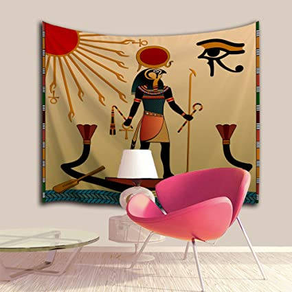 Amazon.com: Ancient Exotic Ethnic Tribal Egypt Wall Hanging Tapestry ...