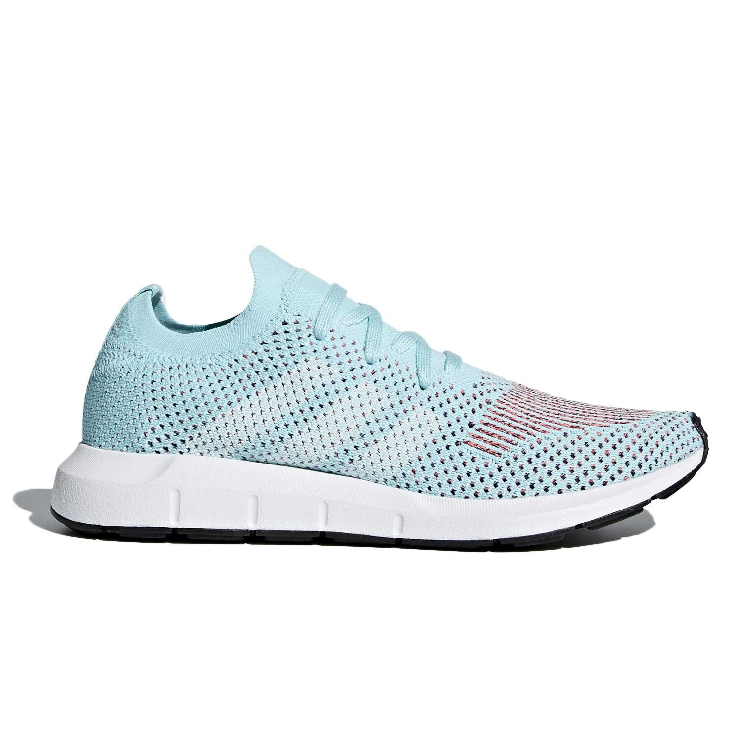 adidas Womens Swift Run Primeknit Casual Sneakers,