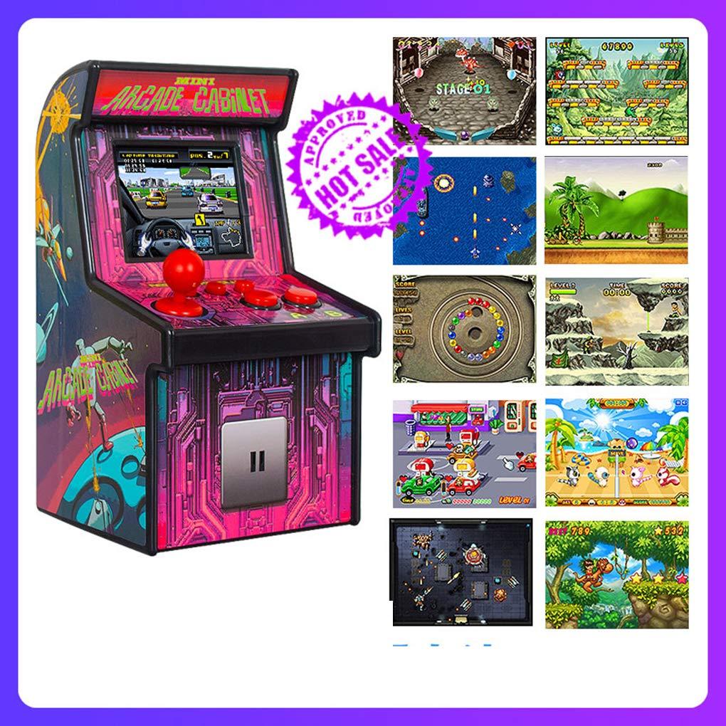 Mini-Console de Jeu Kongnijiwa Portable Mini Retro 2.5 Console de Jeu de l/écran 16bit 16bit Gaming Console 200 Classique Jeu Vid/éo 1 Mini Retro Arcade Console