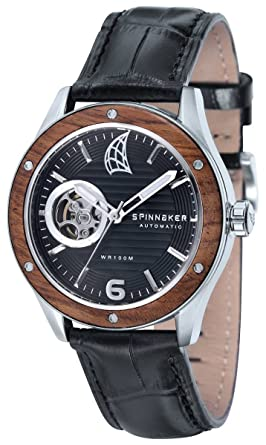 Spinnaker Mens Sorrento Chronograph Watch - Black/Brown