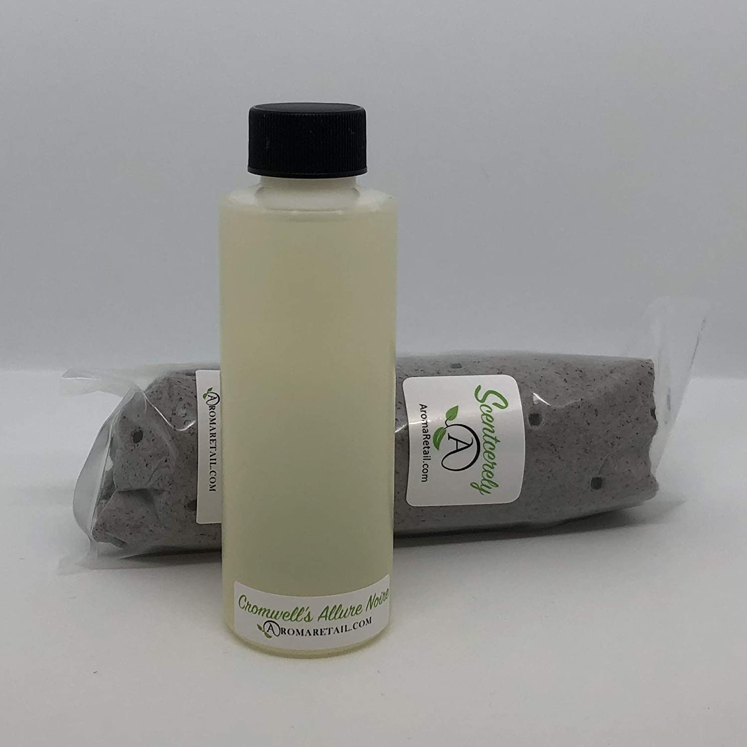 Scentcerely - Aroma Retail 4 oz Fragrance Oil Refill - Allure Noire, Experienced at Cromwell Hotel Las Vegas