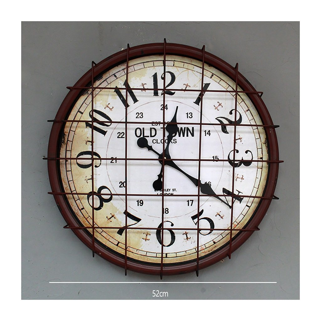 Amazon.de: LOFT Wanddekoration Regal Wand-Dekorationen Uhr LOFT ...