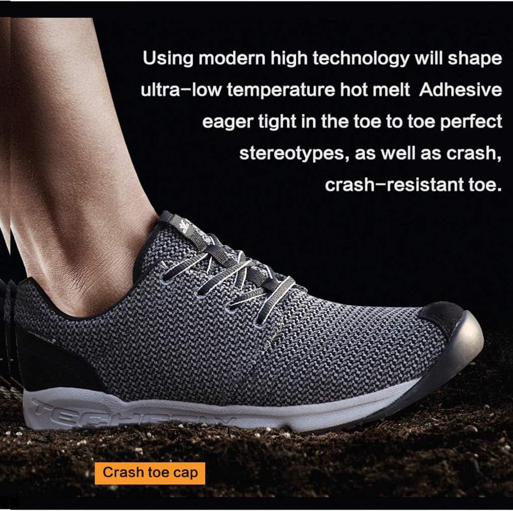 Bergort Hiking Boots Mens Breathable Trekking Sneakers