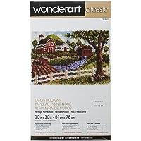 Spinrite Wonder Art Classic Latch Hook Kit, 20 by 30-Inch, Heritage Homestead